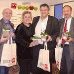 Präsident Karlheinz Winkler begrüßt KollegInnen der Sparte Handel im Büro des SWV Steiermark.
