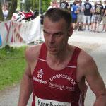 Holger Keller auf den letzten Metern