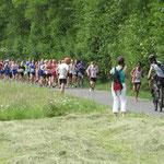 Der erste Kilometer
