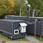 Bloco de energia completo, com gaseificador, planta de cogeração CHP, secador de madeira Re2