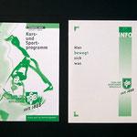 Heft und Folder für TSV Birkach
