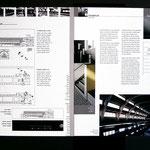 Entwurf für Imagebroschüre Fiedler-Aichele Architekten