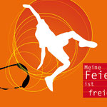 Logo und Postkarte, Faltblatt für die Humanistische Jugendfeier