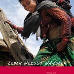 Broschüre für Govinda Entwicklungshilfe