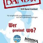 Flyer, Plakat und Urkunden für Wettbewerb des KJR-Esslingen