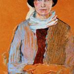 Paula, Eitempera auf Leinwand, 70/50 cm, ca. 2000