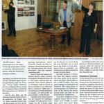 """Volksstimme Sissach, """"Auftrag erfüllt: 13 Werke verkauft"""", caw"""