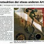 """Volksstimme Sissach, """"Kunstauktion der etwas anderen Art"""", Barbara Saladin"""