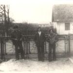 Загірне 70 роки (подвір'я Козак Марії , позаду хата Боровичів). Zahirne 70 years