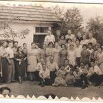 весілля в селі Загірне 50 роки 20 ст.