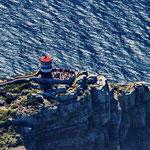Hubschrauberüberflug über Cap Point