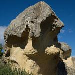 ich sehe einen Hund - Steinformation bei Kurow