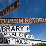 Schilderwald in Rotorua