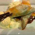Banana Fudge Filo im Stellar, Wanganui