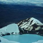 Krater des Mount Ruapehu