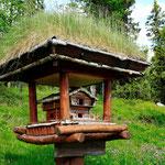 Vogelhaus am Hoifjellshotell in Fefor
