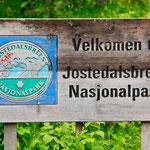 im Jostedalsbreen Nasjonalpark