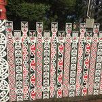 Maori-Kunst in Rotorua