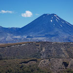 Blick auf den Mount Tongariro