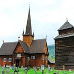 Stabkirche in Vågåmo