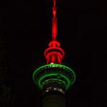 der Fernsehturm von Auckland