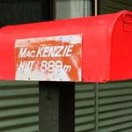 hier kommt kein Briefträger hin