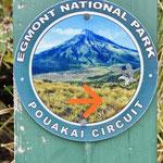auf dem Pouakai Circuit Wanderweg