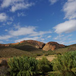 Landschaft bei der Thabile Lodge