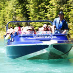 Jet Boot auf dem Dart-River