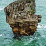 Wasserkopf - im wahrsten Sinne des Wortes, bei den Pancake Rocks