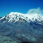 das Massiv des Mount Ruapehu