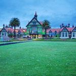 das alte Badehaus von Rotorua, heute ein Museum