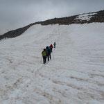 Überquerung des Stubaier Gletscher