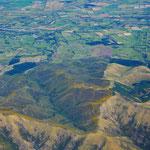 Anflug auf Christchurch