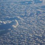 geschlossene Wolkendecke - das bedeutet: Ende