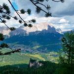 Blick auf Cortina D´Ampezzo
