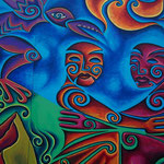 Wandgrafitti in Rotorua