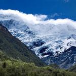 Mount Sefton Massiv, 3151 Meter hoch