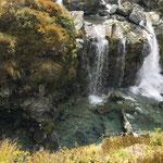 Wasserfall auf dem Kepler Trek