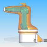 housse robot HDPR robotic cover motoman yaskawa