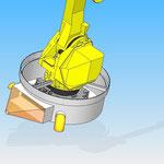 housse de protection pour robot fanuc hdpr arceau fixe