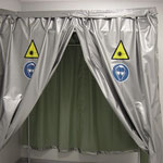 lazer curtain protection