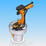 robot kuka piece fixation housse de protection robot hdpr