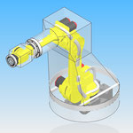 robotic cover HDPR housse robot fanuc r1000