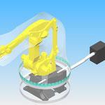 housse de protection pour robot fanuc m410 hdpr robotic cover