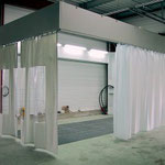 separation curtain building