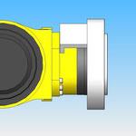 joint tournant axe 6 housse de protection pour robot fanuc hdpr