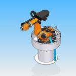 robot kuka piece fixation housse de protections robot hdpr