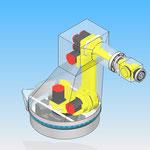 housse robot HDPR robotic cover fanuc r1000