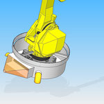 Industrial robot fanuc  jacket protective cover